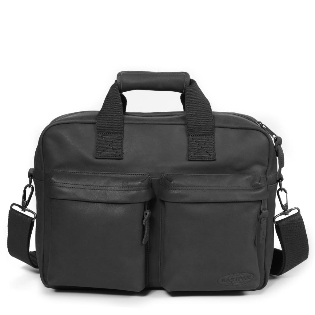 Eastpak Tomec Black Leather-30