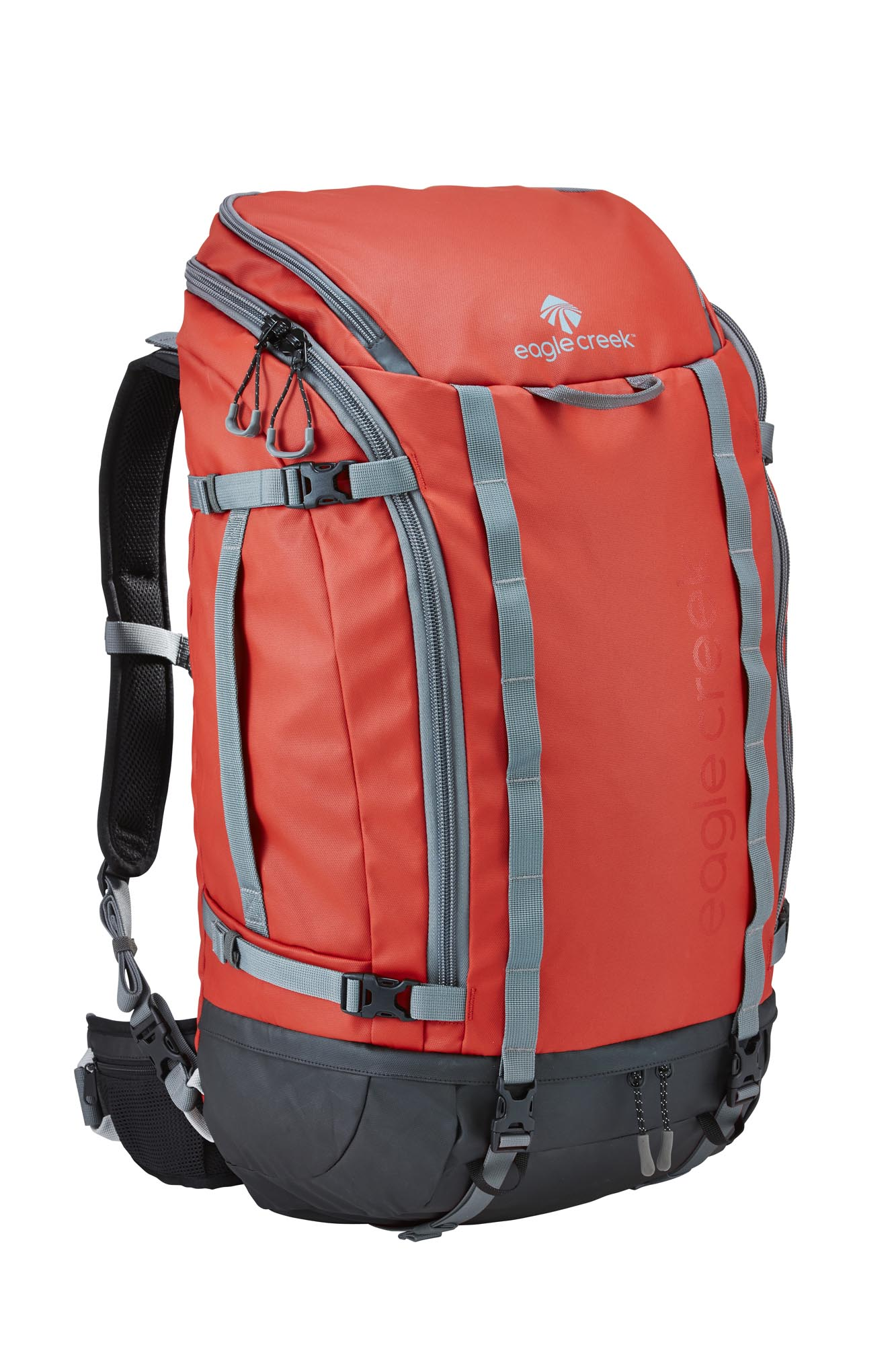 EagleCreek - Systems Go Duffel Pack 60L Red Clay - Duffels -