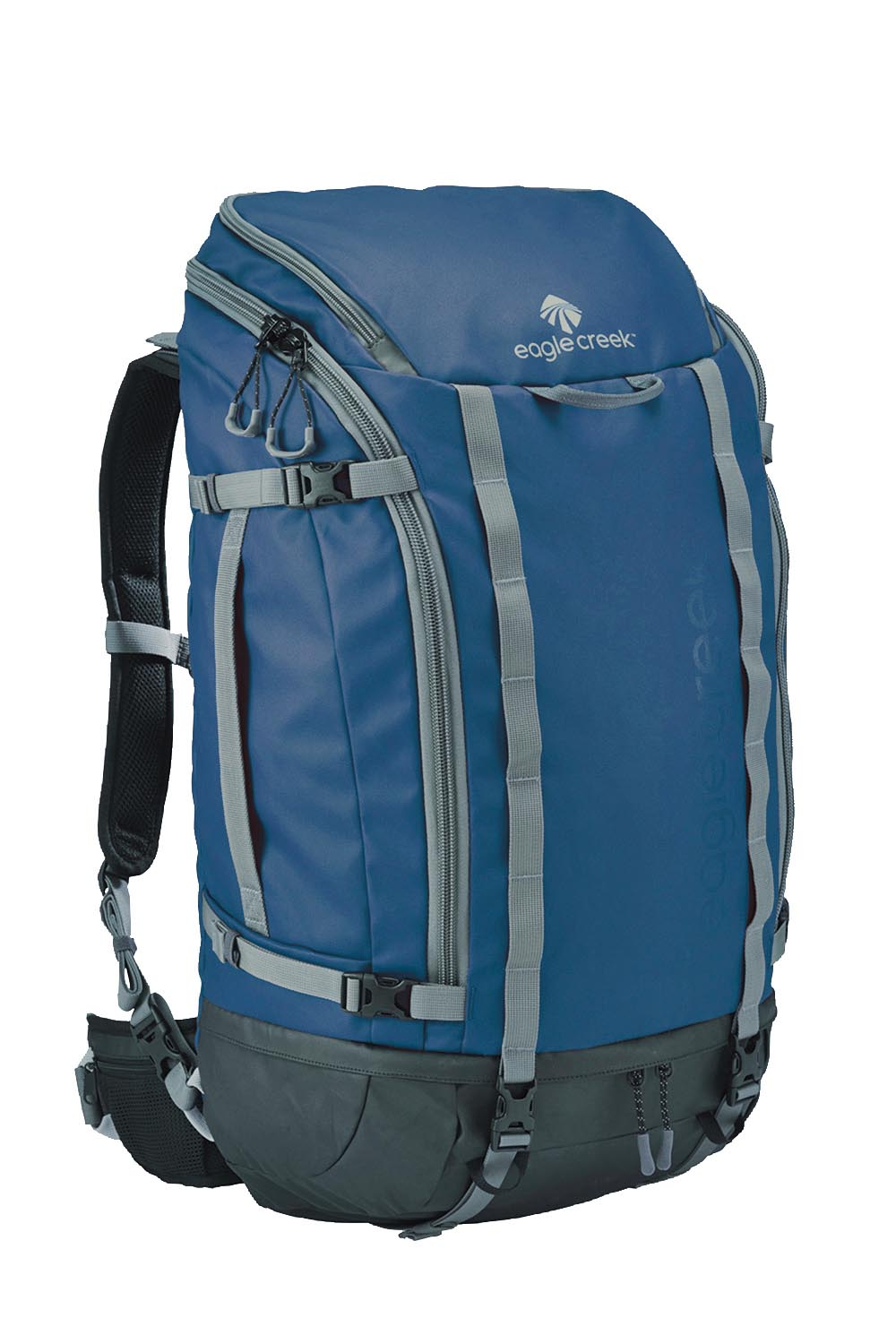 EagleCreek - Systems Go Duffel Pack 60L Slate Blue - Duffels -