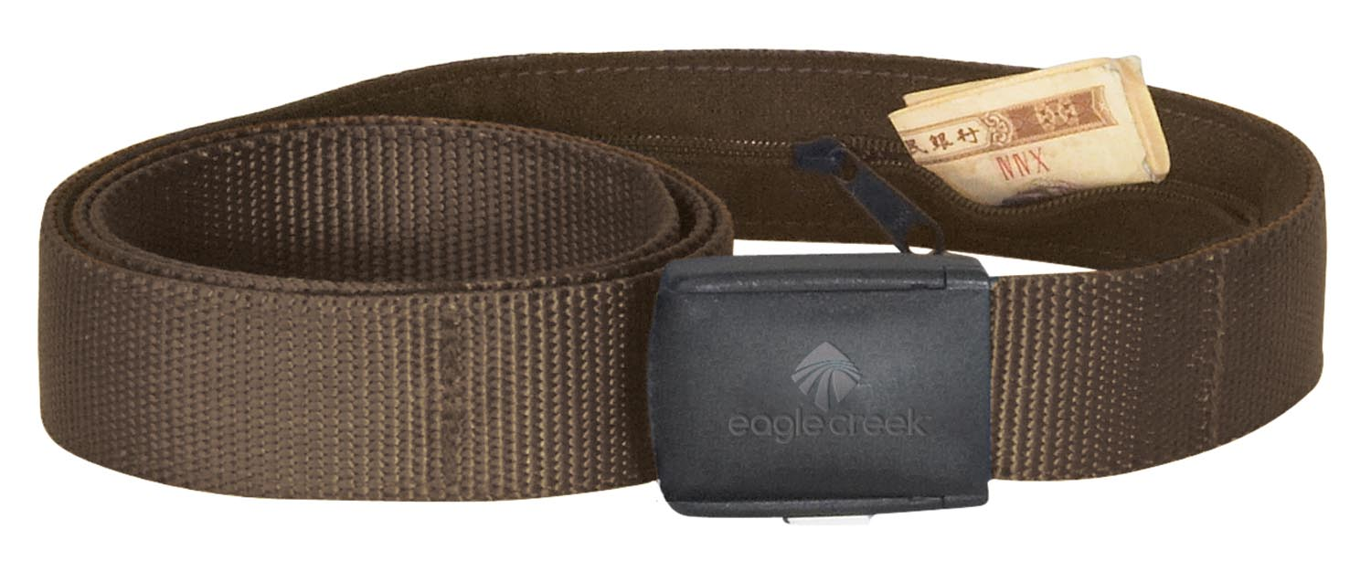 Eagle Creek All Terrain Money Belt Coffee-30