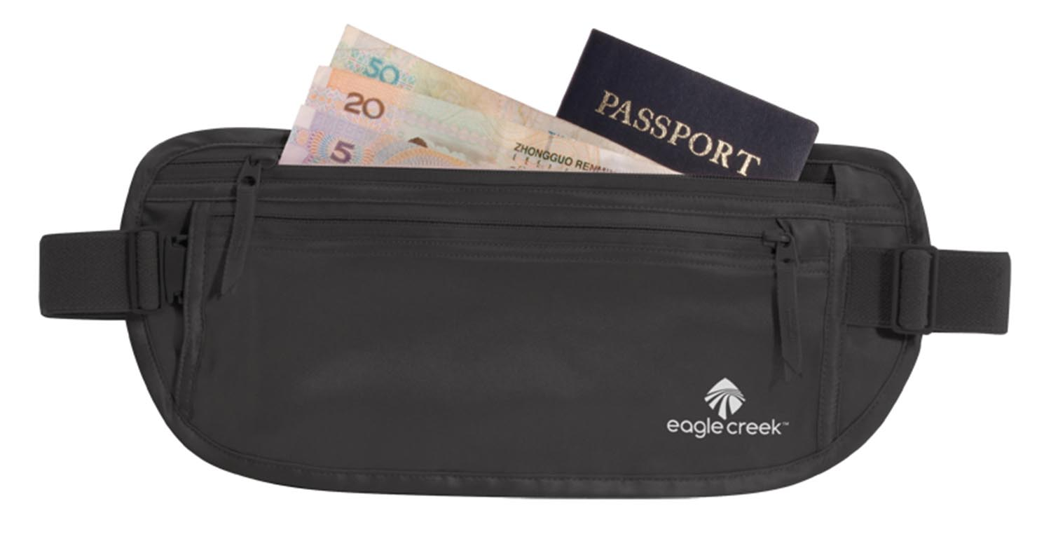 Eagle Creek Silk Undercover Money Belt Black-30