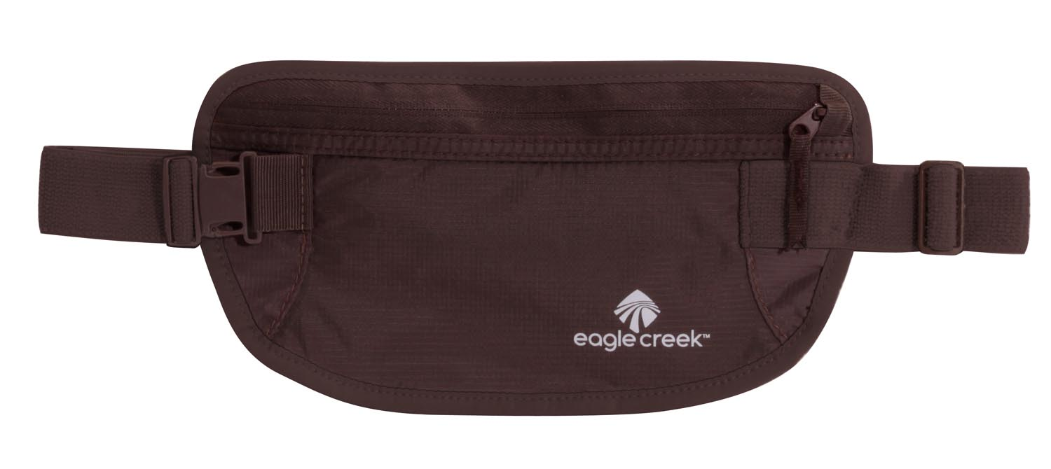 Eagle Creek Undercover Money Belt Mocha-30