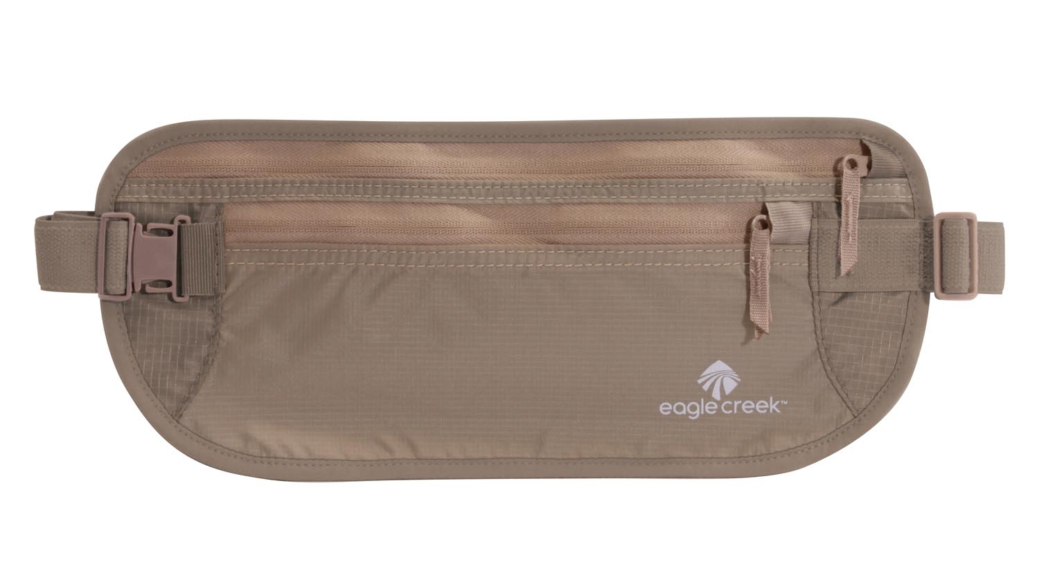 Eagle Creek Undercover Money Belt Dlx Khaki-30