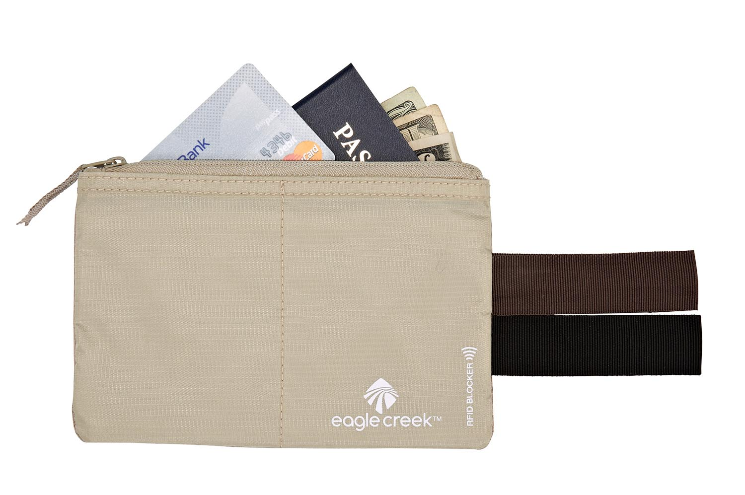 Eagle Creek RFID Blocker Hidden Pocket Tan-30