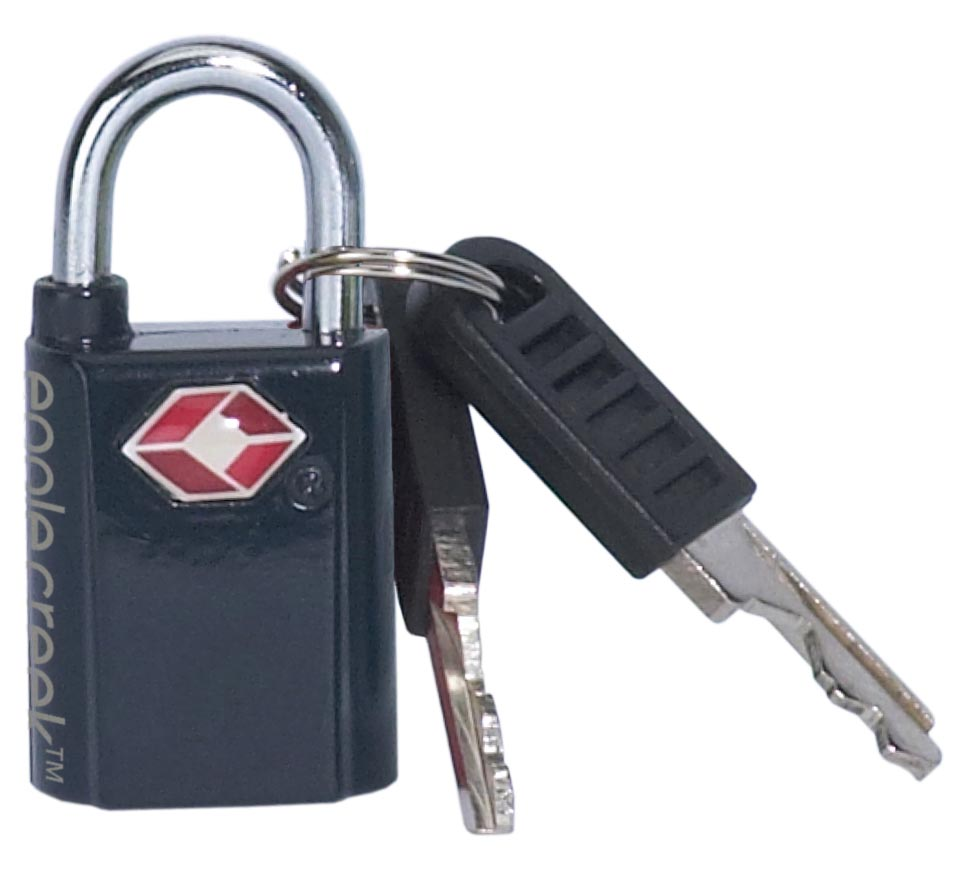 Mini Key TSA Lock Graphite-30