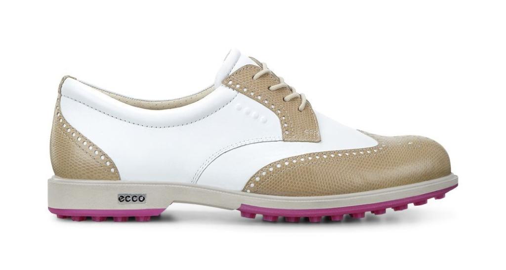 Ecco Womens Clas. Golf Hybrid Sand/White-30