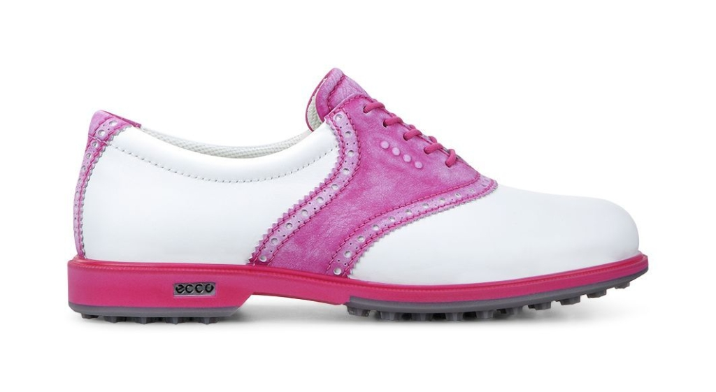 Ecco Womens Clas. Golf Hybrid White/Candy-30