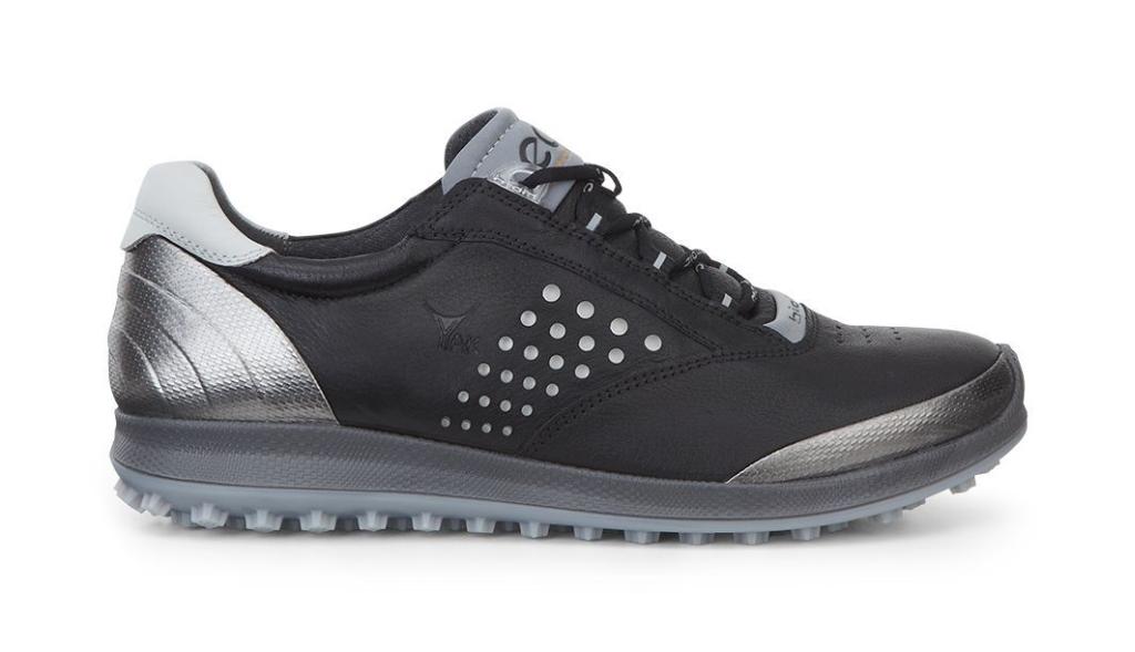 Ecco Womens Golf Biom Hybrid 2 Black/Buffed Silver-30