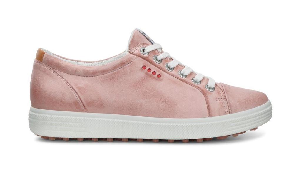 Ecco Womens Golf Casual Hybrid Silver Pink-30