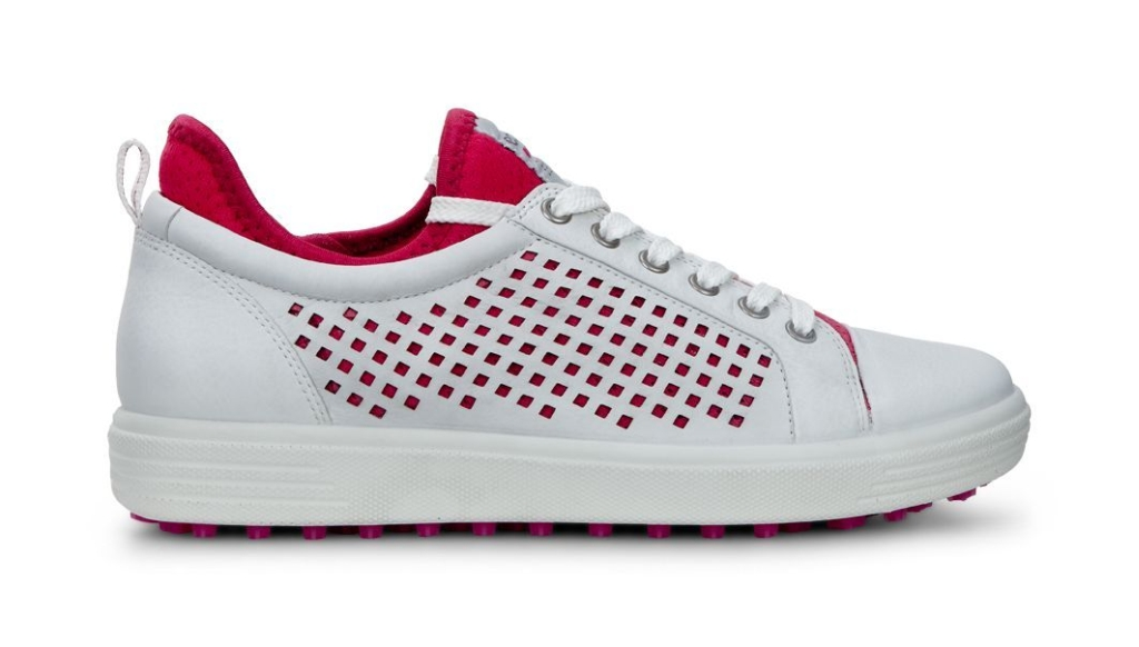 Womens Golf Casual Hybrid White/Raspberry-30