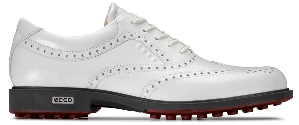 Ecco Mens Tour Golf Hybrid White/Brick-30