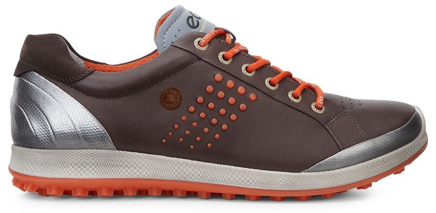 Ecco Men's Golf Biom Hybrid 2 Mocha/Fire-30