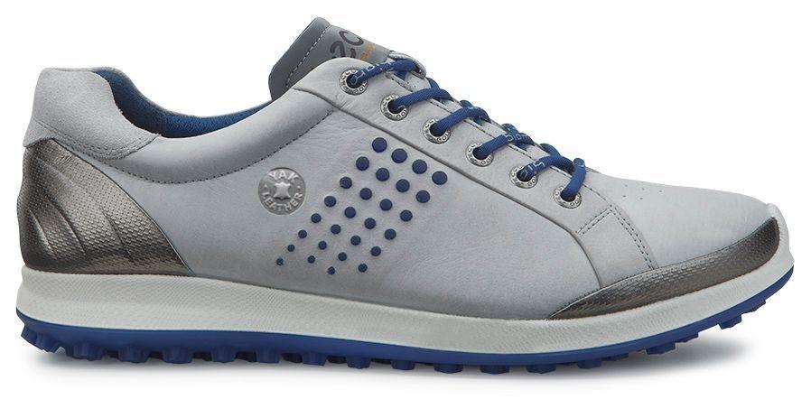 Ecco Men's Golf Biom Hybrid 2 Concrete/Royal-30