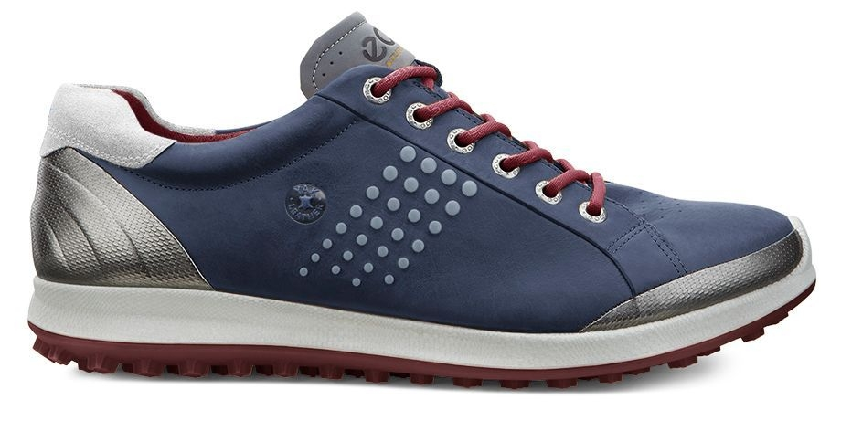 Ecco Men's Golf Biom Hybrid 2 True Navy/Brick-30