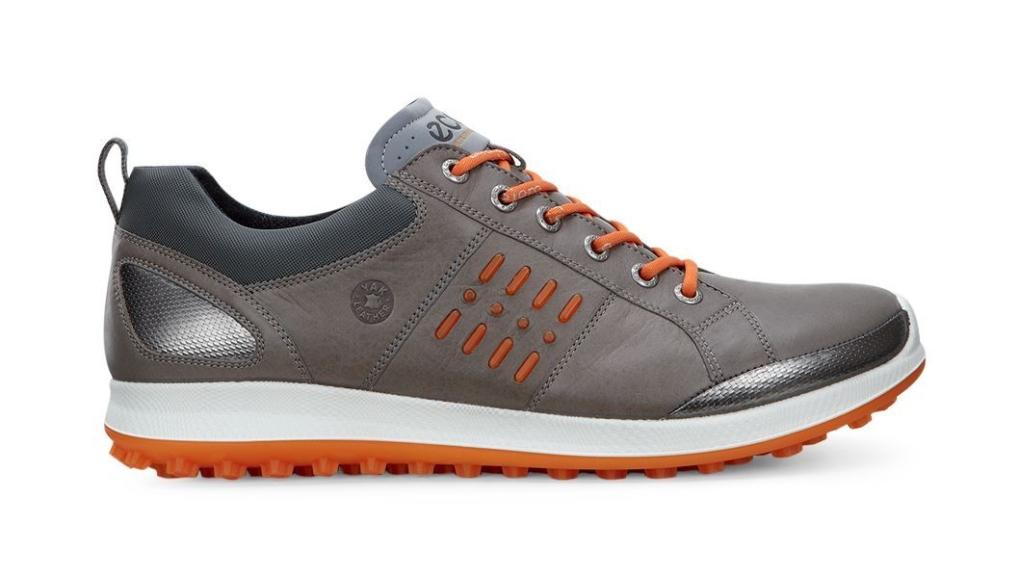 Ecco Men's Golf Biom Hybrid 2 Warm Grey/Orange-30