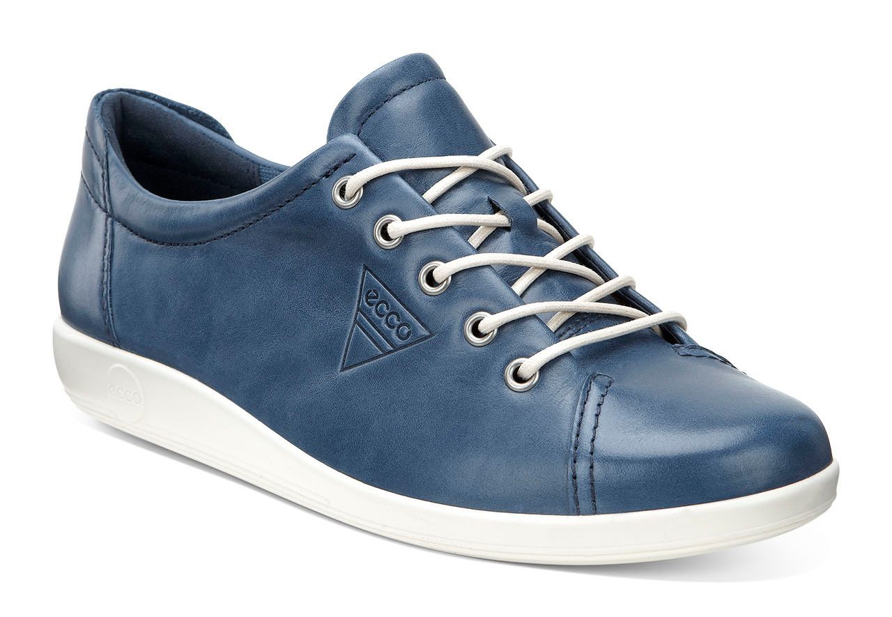 Ecco Women´s Soft 2.0 Denim Blue-30