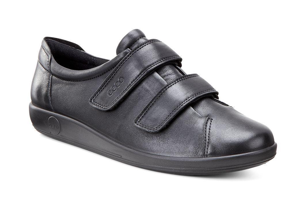 Ecco Women´s Soft 2.0 Black With Black Sole-30
