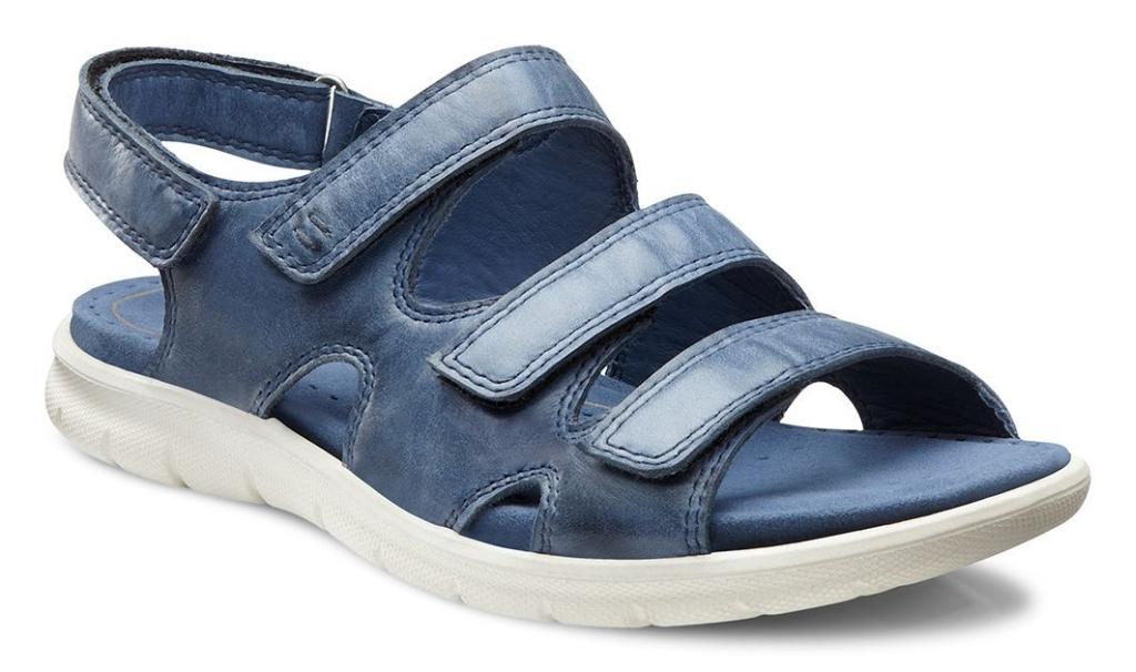 Ecco Babett Sandal Denim Blue-30