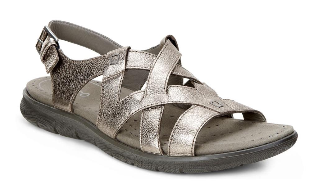 Ecco Babett Sandal Warm Grey Metallic-30