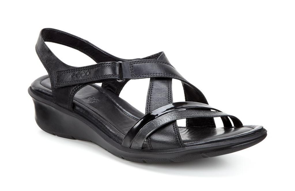 Ecco Felicia Sandal Black/Black-30