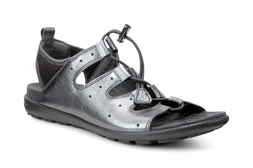 Ecco Women´s Jab Sandal Dark Shadow Metallic/Licorice-30