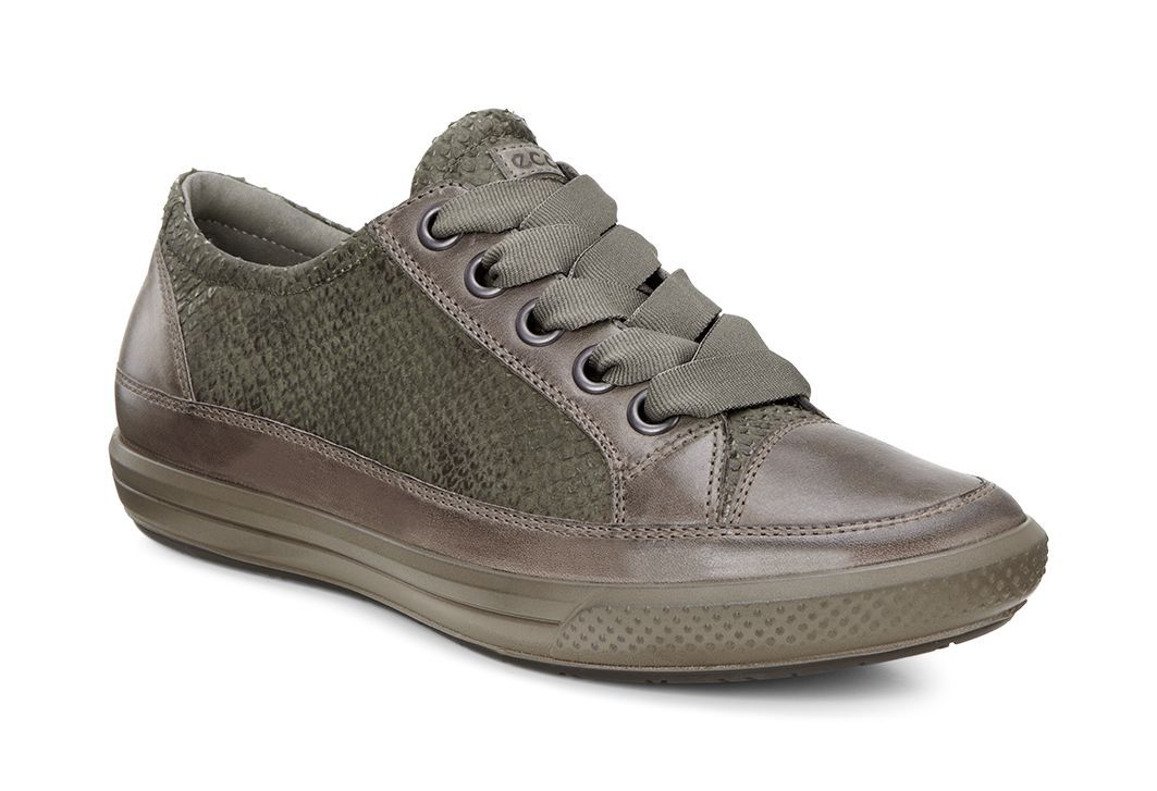 Ecco Women´s Dress Sneaker Dark Clay/Tarmac-30
