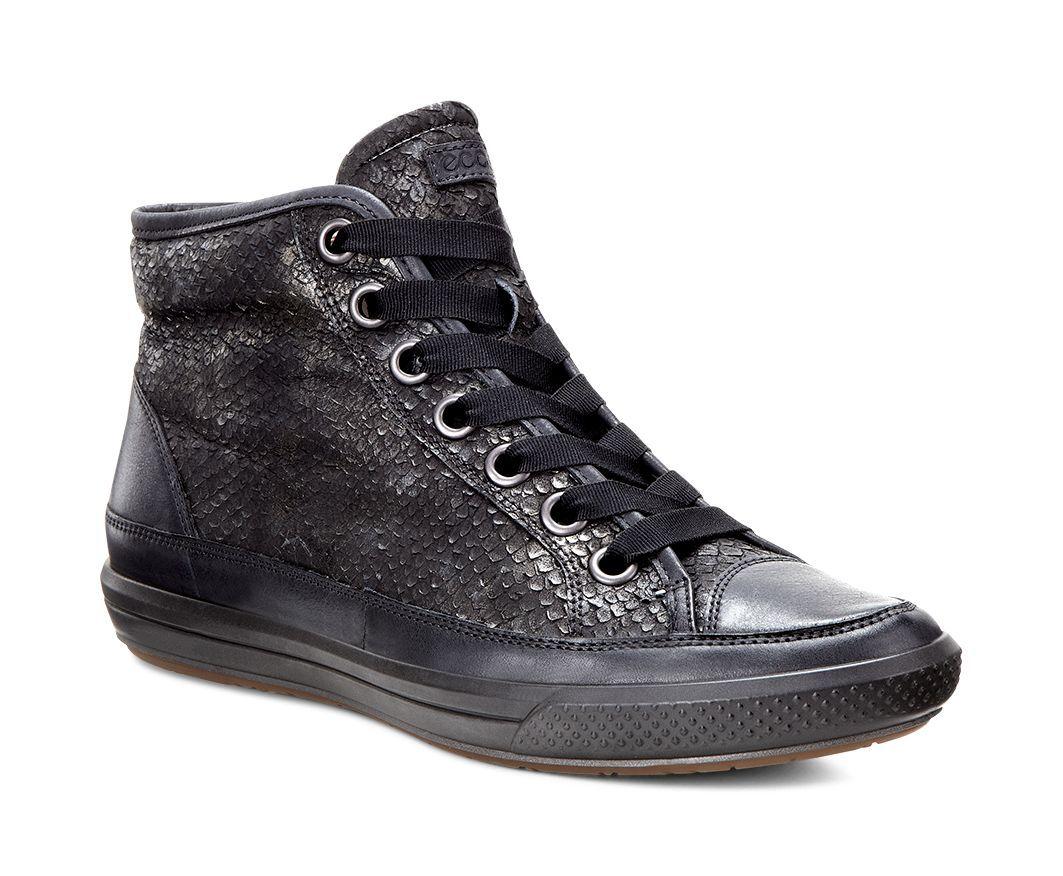 Ecco Women´s Dress Sneaker Black/Black-30