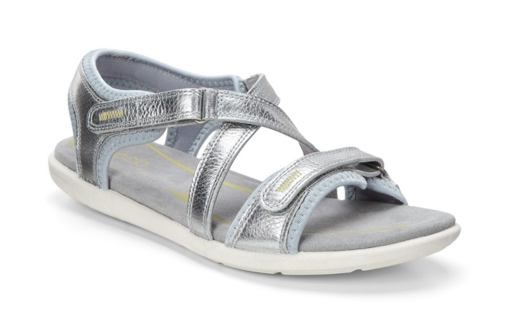 Ecco Bluma Sandal Alusilver-30