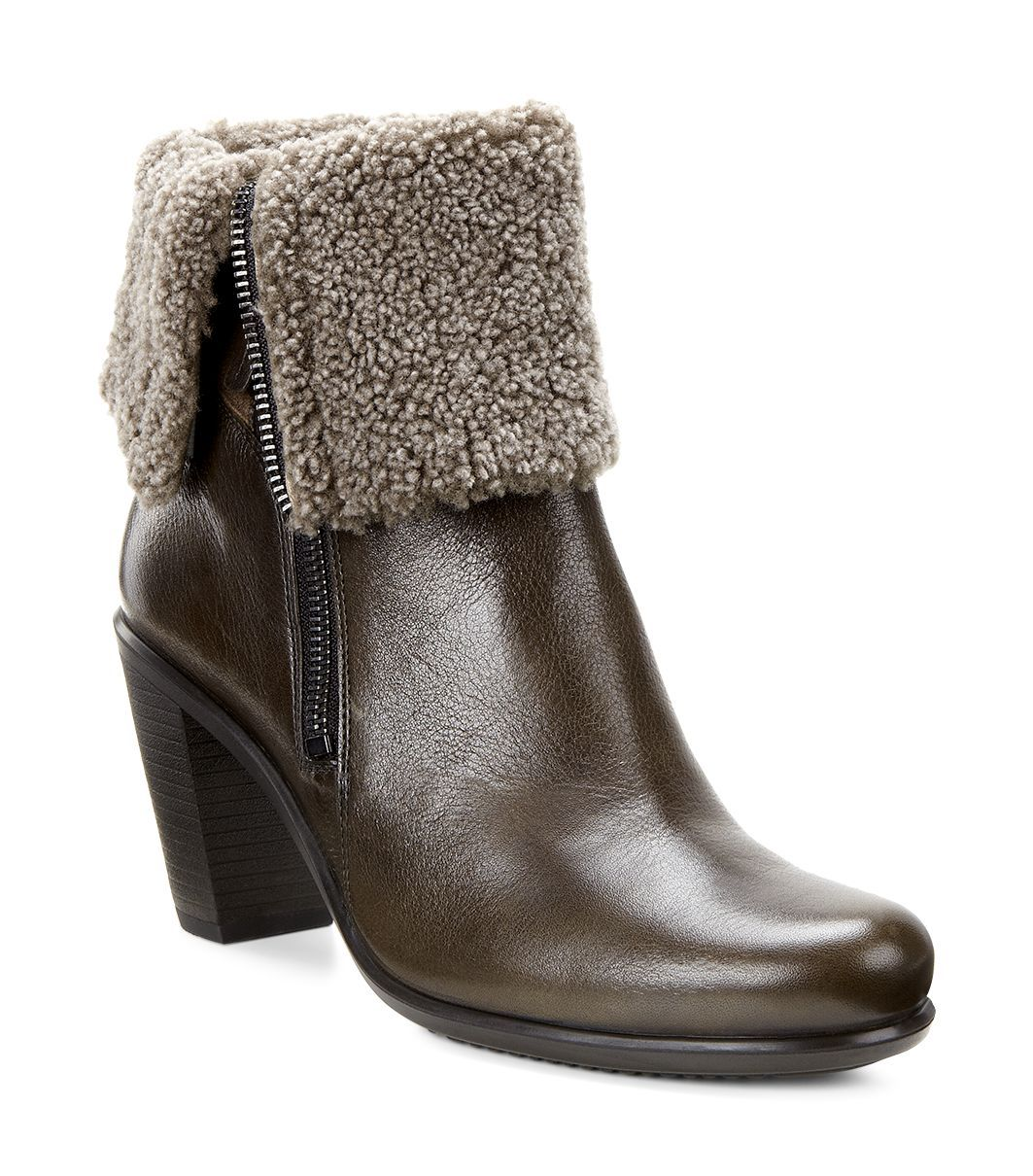 Ecco Women´s Touch 75b Tarmac/Cocoa Brown-Warm Grey-30