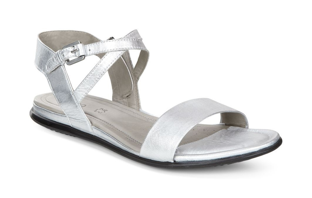 Touch Sandal Silver Metallic-30