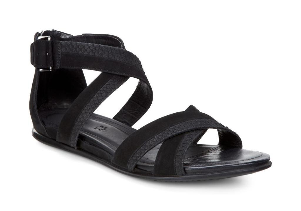 Ecco Touch Sandal Black/Black-30
