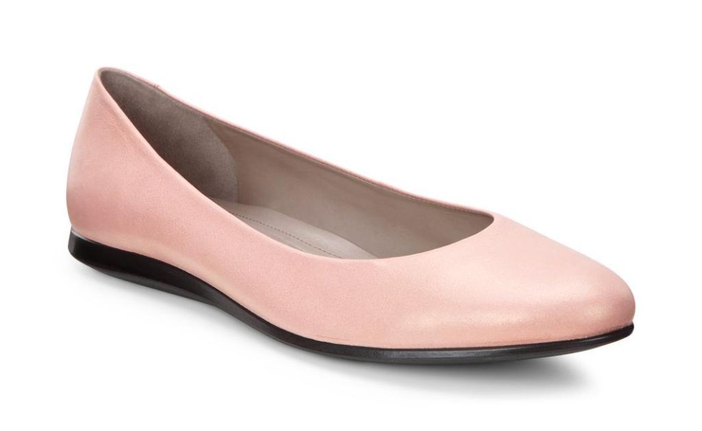 Ecco Touch Ballerina 2.0 Silver Pink-30