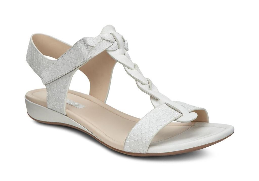Bouillon Sandal II White/White-Silver Metallic-30