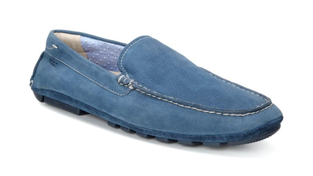 Ecco Summer Moc Denim Blue/Denim Blue-30