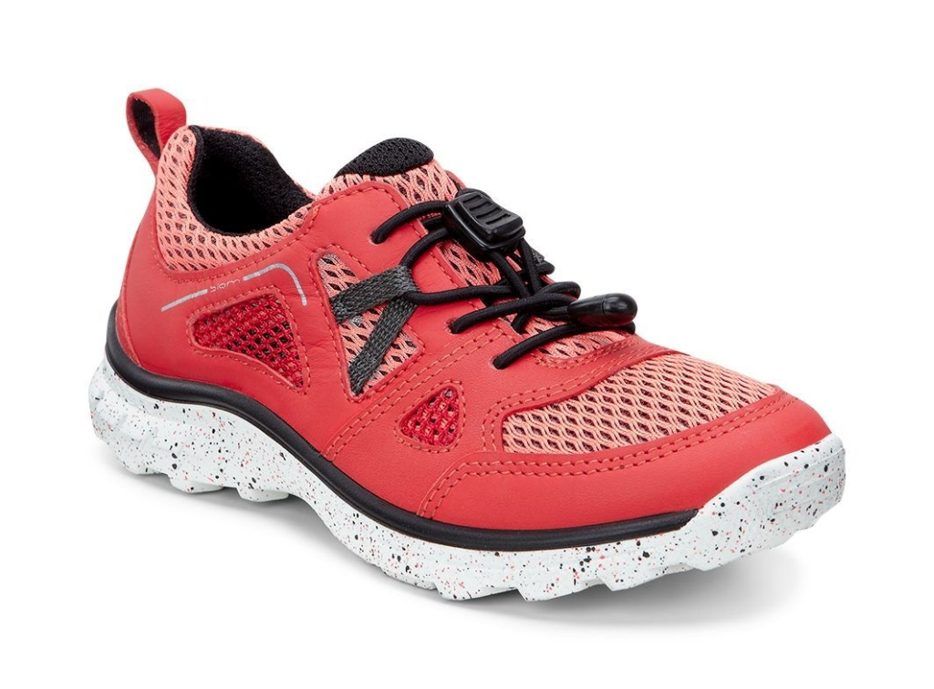 Ecco Biom Trail Kids Coral Blush/Coral Blush-Black-30