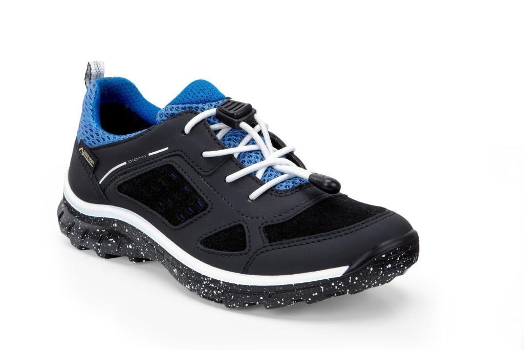 Ecco Biom Trail Kids Black/Black/Cobalt-30