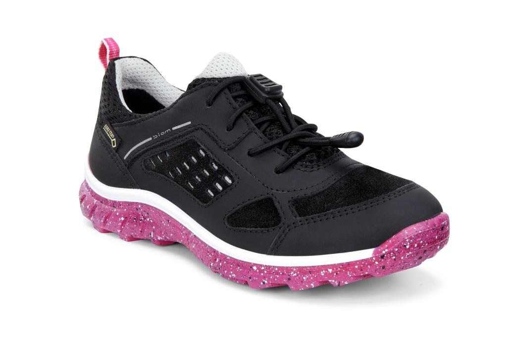 Ecco Biom Trail Kids Black/Black/Beetroot-30