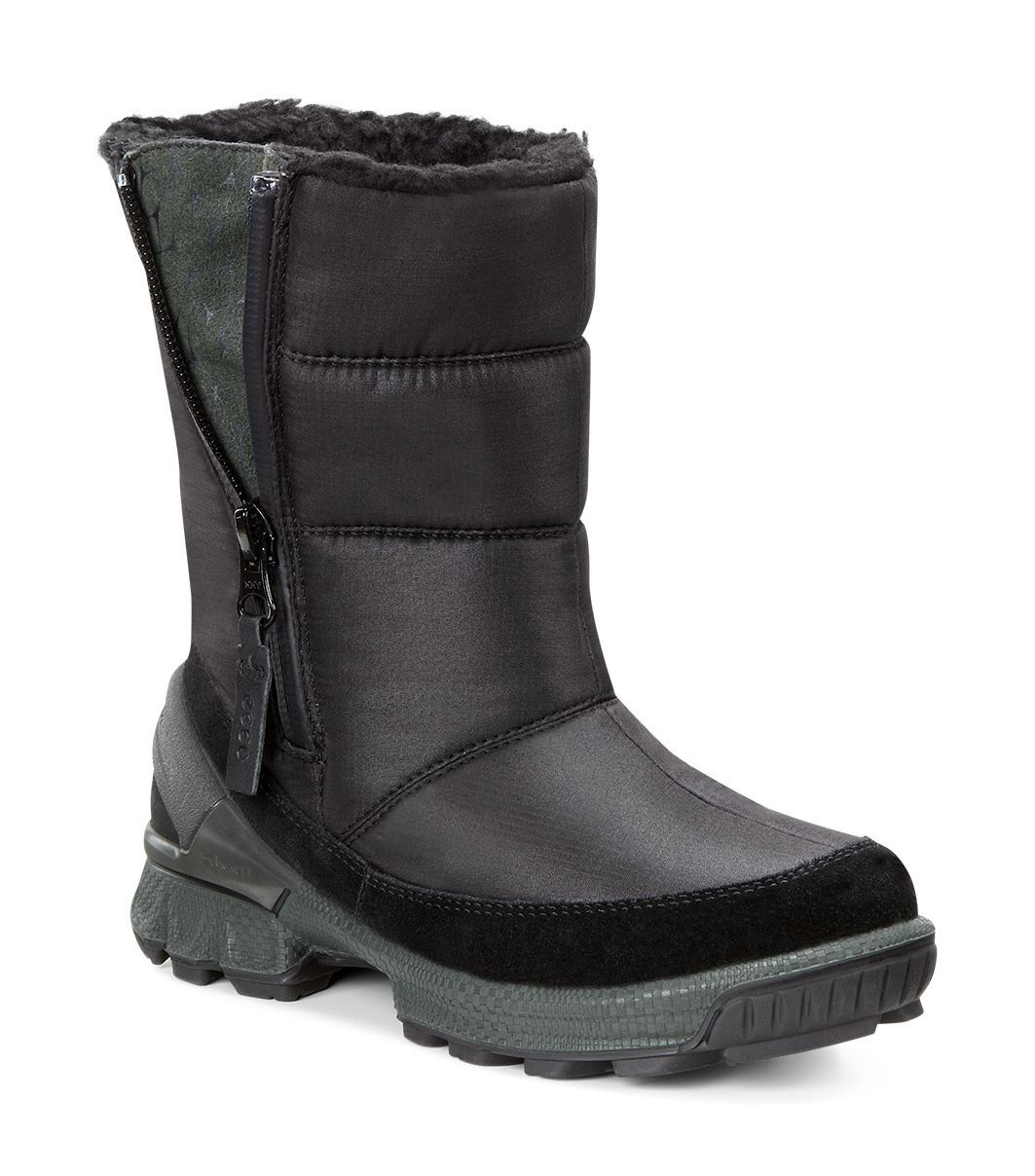 Ecco Boy´s Biom Hike Black/Black/Green Gables-30