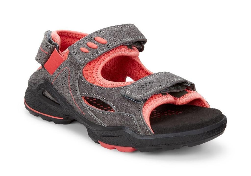 Ecco Biom Sandal Warm Grey/Coral Blush-30