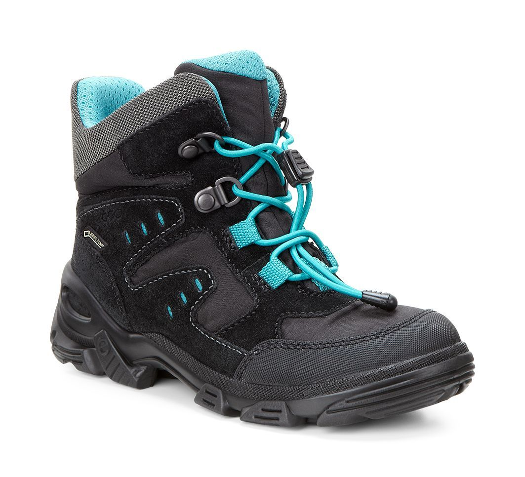 Ecco Men´s Snowboarder Black/Black/Pagoda Blue-30