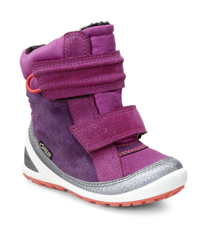 Kid´s Biom Lite Infants Boot Buffed Silver/Fuchsia/Burgundy-30