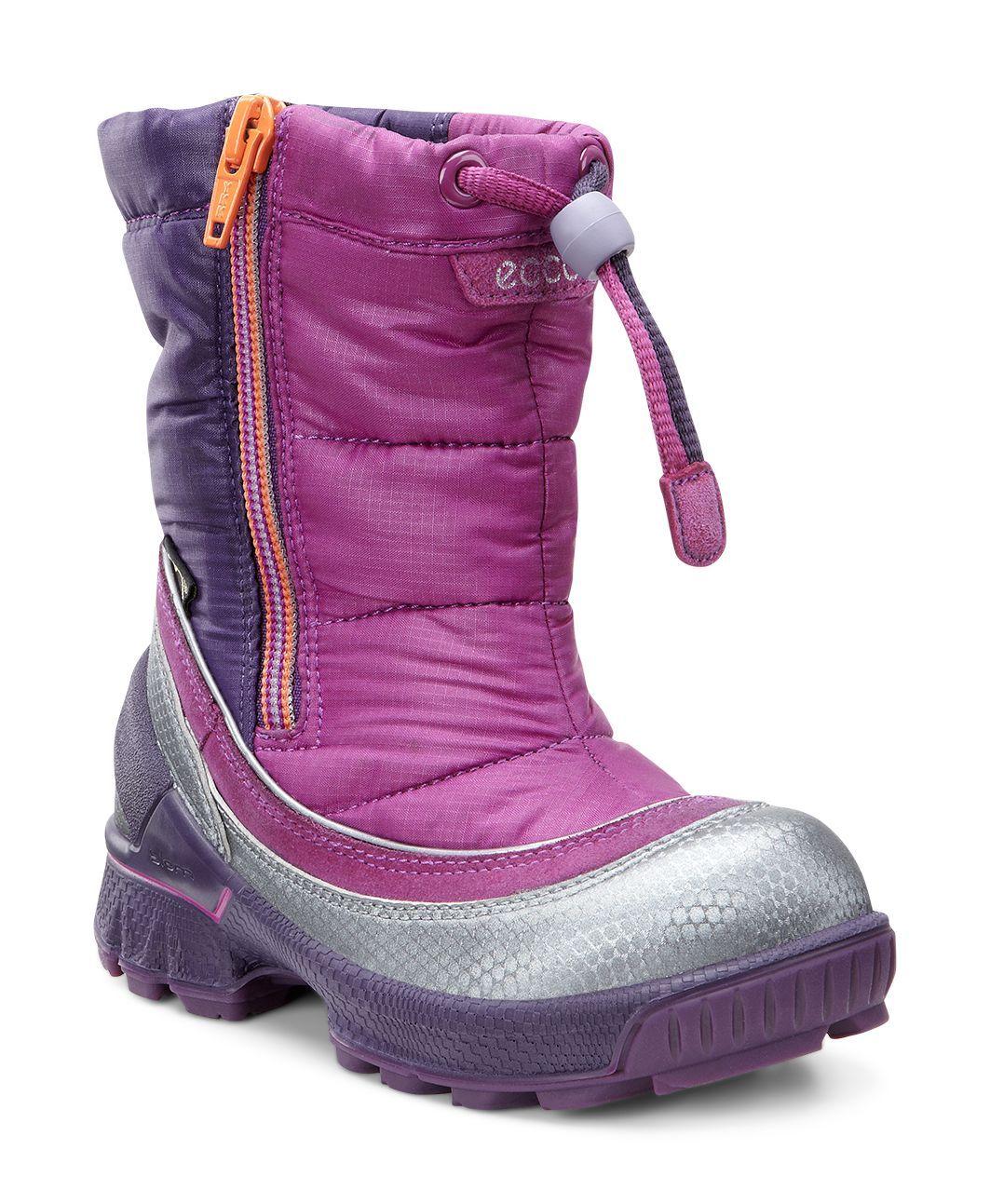 Ecco Kid´s Biom Lite Infants Boot Buffed Silver/Fuchsia/Fuchsia-30