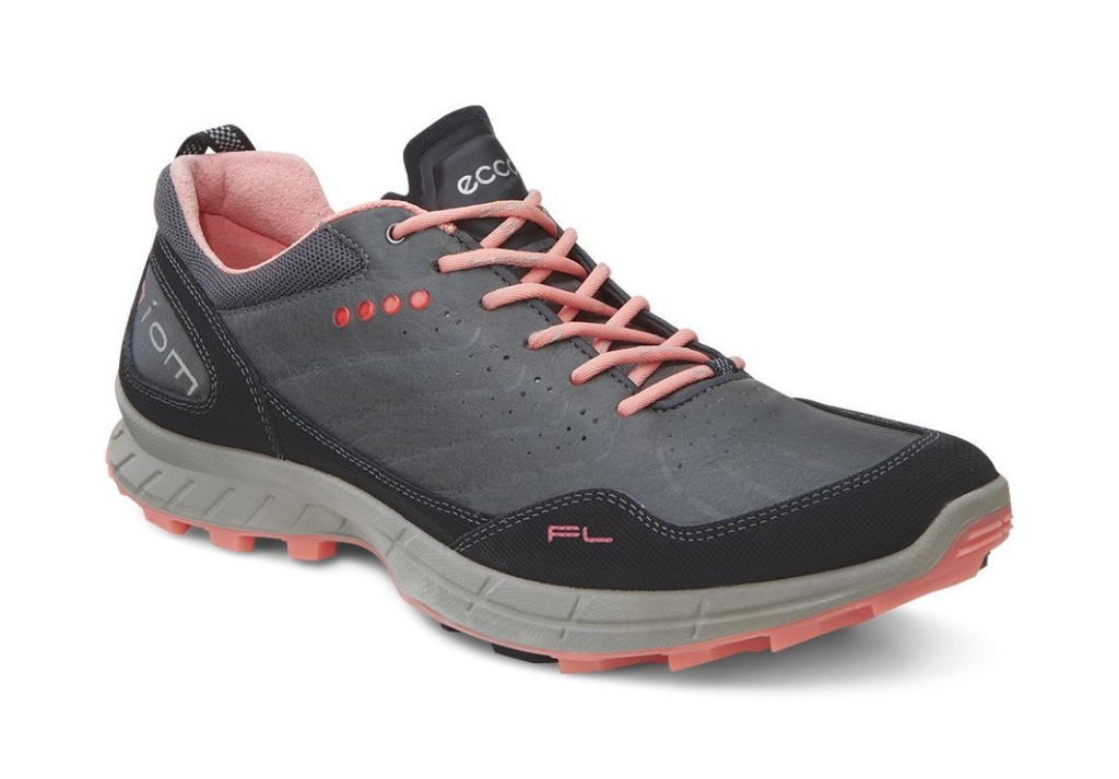 Ecco Biom Trail Fl Ladies Black/Dark Shadow/Coral-30