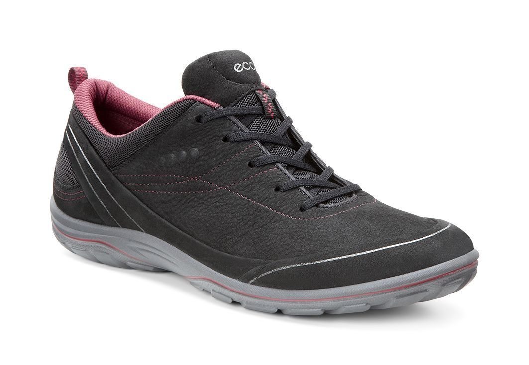 Ecco Women´s Arizona Black/Petal Trim-30