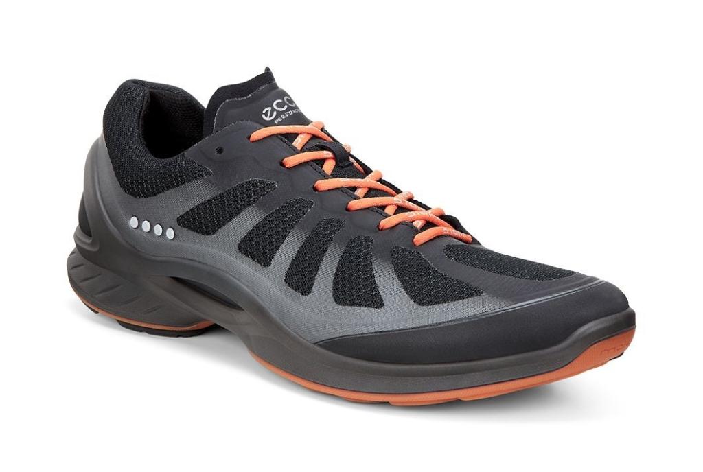 Ecco Biom Fjuel Men's Black/Black/Orange-30