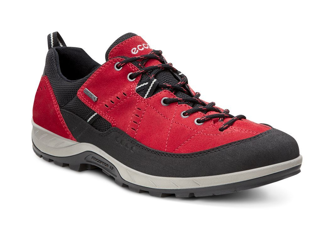 Ecco Men´s Yura Black/Tomato-30
