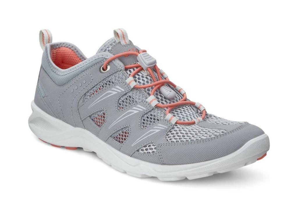 Ecco Terracruise Ladies Silver Grey/Silver Metallic-30