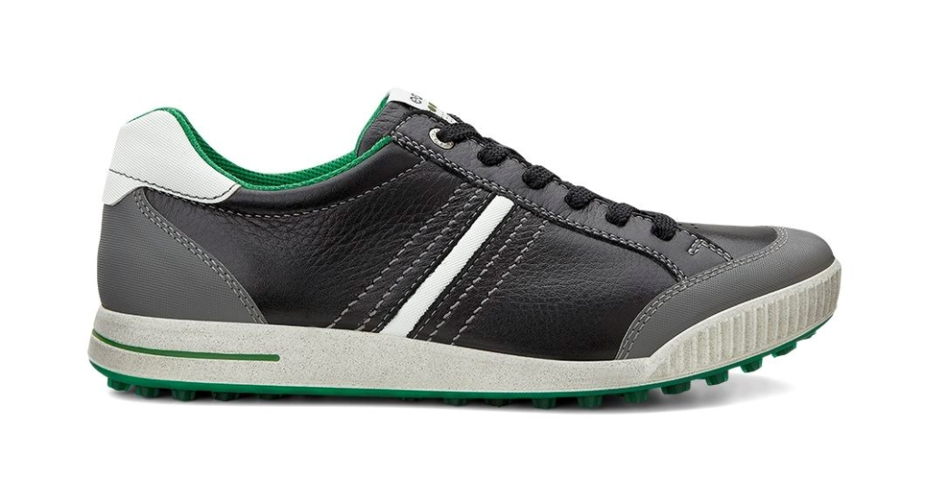 Ecco Men's Golf Street Black/Shadow White/Pure Green-30