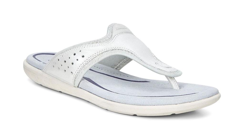 Ecco Bluma Sandal White-30
