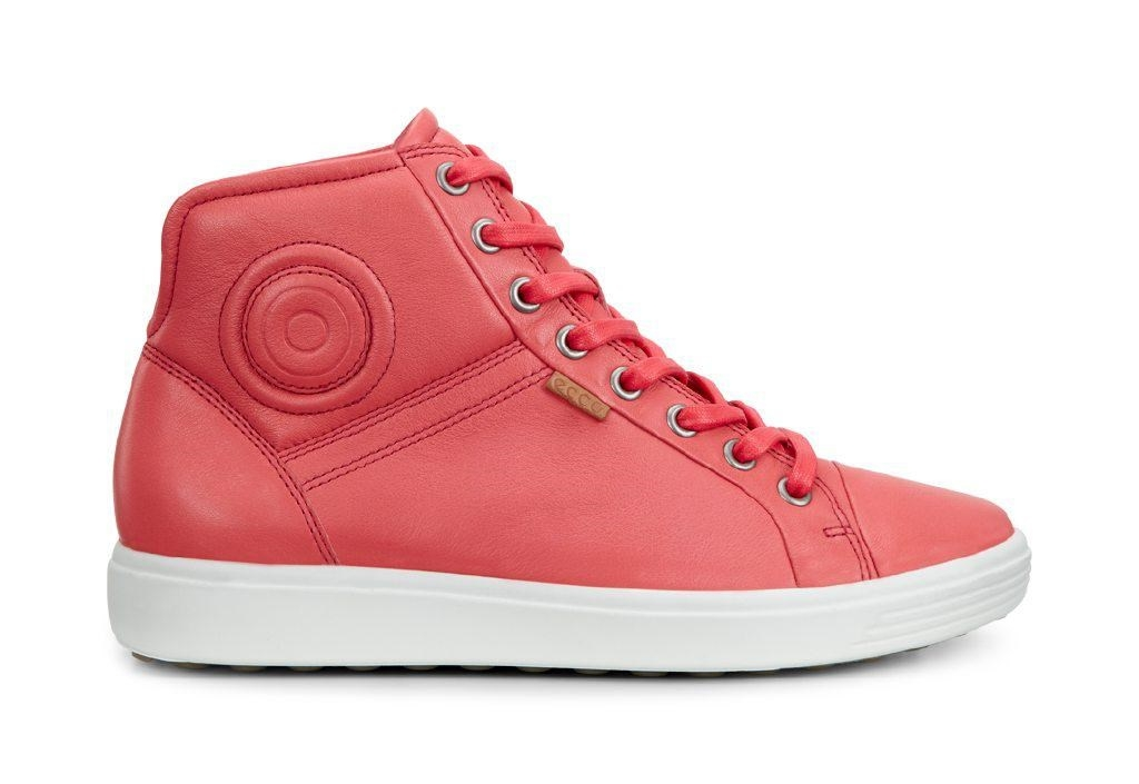 Ecco Soft 7 Ladies Coral Blush-30